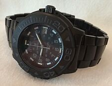 SMITH & WESSON -ALL BLACK TRITIUM TRIGALIGHT Divers Watch