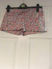 Topshop Estampado Floral Pantalones Cortos Talla 10 en muy buena condición