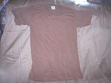 17 Small Military T Shirt Brown Tshirt Army Shirt Lot Military Surplus Last Ones