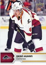 17/18 UPPER DECK AHL #41 DEAN KUKAN CLEVELAND MONSTERS *47789
