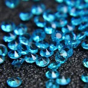 Mini 1000Pcs 4.5mm Crafts Diamond Confetti Table Scatters Clear Crystals Wedding