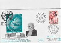 EUROPEAN COUNCIL STRASBOURG  1973 STAMP COVER REF R 4099