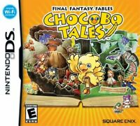 Final Fantasy Fables Chocobo Tales Brand New Factory Sealed