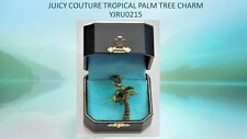 100% Authentic 2004 JUICY COUTURE Tropical Palm Tree Charm with Box YJRU0215