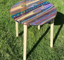 Hand painted and assembled , One of a kind Wood Table