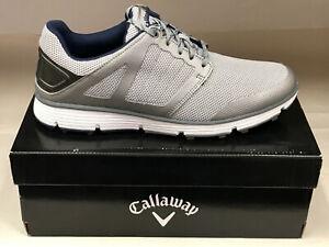 NEW Callaway Balboa Vent 2.0 Grey Men's Golf Shoes 11.5M