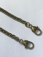 Metal Chain Purse Strap Handle Shoulder Crossbody Bag Handbag Replacement Bronze