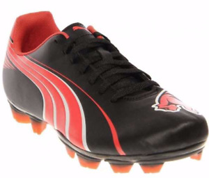 PUMA SOCCER SHOES WOMEN'S ATTENCIO II I FG SOCCER CLEAT RED BLACK SIZE 6.5 NEW