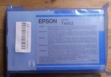 ORIGINALE Epson t6052 inchiostro ciano Stylus PRO 4800 4880 2017 senza imballaggio originale D