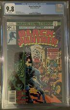 Black Panther #3 CGC 9.8 Jack Kirby, Marvel 1977 🔥