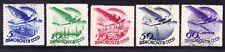 Russia 1934 ARIA SG643B/47B - FINE USATO-SENZA FILIGRANA. catalogo £ 100