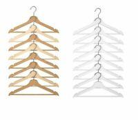 IKEA Bumerang Wooden Adult Clothes Hangers Wood Trouse /Coat /Suit Hanger NEW