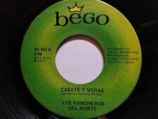 Norteño Latin 45 RPM Speed Vinyl Records