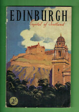 #RR.   1950s  TRAVEL GUIDE BROCHURE  EDINBURGH, SCOTLAND