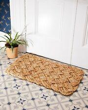 Natural Jute Indoor Door Mat Hand Woven Indoor Mats (100% Natural Jute) 45x75cm