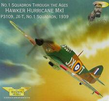 CORGI aa32012 Hawker Hurricane Mk I No1 Sqn p3109 / jx-t RAF Wittering VRARE