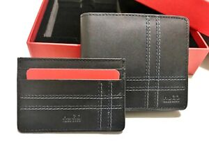Hugo Boss Gift Set (Wallet and Cardholder) Leather Black