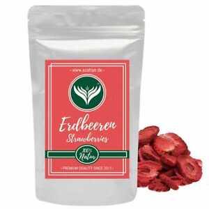 Erdbeeren gefriergetrocknet | Erdbeerscheiben 250g