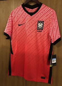 Nike Men's South Korea 2020 Home Soccer Jersey Size M CQ9168-653 NEW RARE