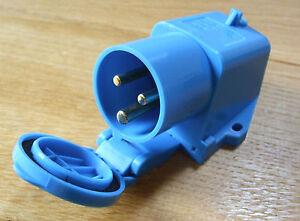 240v hook up Inlet plug, surface mounted, Caravan, Horsebox, Boat    ISM16