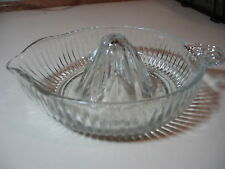 Vintage Juice Reamer -  Depression Glass