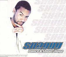 SHAGGY - Dance & Shout/Hope (UK 3 Trk CD Single)