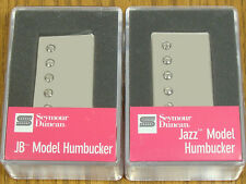 NEW Seymour Duncan JB Jazz Hot Rodded PICKUP SET Humbucker SH-4 SH-2n Nickel