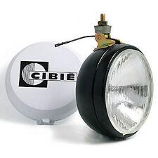 CIBIE SPOT LAMP OSCAR PLUS SPORT 180mm DIAMETER BLACK STEEL SLIMLINE BODY