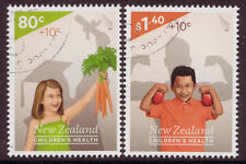 "NEW ZEALAND 2014 HEALTH STAMPS ""HEALTHY FUTURE""  FINE USED"