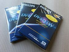 3 X Philips DVD + RW 120 minutos grabables/BNIP