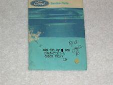 NOS 1973 81 Ford Mercury C4 Interm. Servo Accumulator Check Valve D9AZ-7D376-A