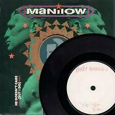 BARRY MANILOW I'm Your Man 7 INCH VINYL UK Rca 1986 White Label Test Pressing