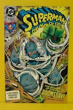 Superman: Man of Steel #18  High Grade NM  1st Full App. of Doomsday in Series