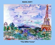 TWELVE (12) COPIES OF THE PAINTINGS OF RAOUL DUFY A FAMOUS FRENCH PAINTER