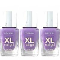 Lot of 3 CoverGirl XL Nail Gel Plumped-Up Plum #770 - 0.44 fl oz bottle 04606525