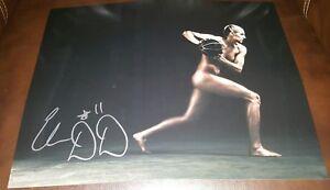 ELENA DELLE DONNE signed auto 11x14 photo WASHINGTON MYSTICS TEAM USA ESPN BODY
