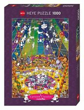 Cartoon  Crazy Circus, Mordillo HY29755 - Heye 1000 PIECE JIGSAW PUZZLE