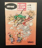Les Cahiers De La Bande Dessinée n°29. Tabary . Glénat 1976