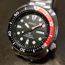 SEIKO Prospex Turtle SRP789K1 Automatic 200m Diver Red & Black Original Box #