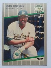1989 Fleer baseball cards pick any 30 cards to fill your set