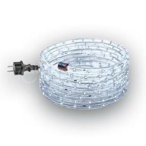 LED Lichtschlauch Leuchtschlauch 6m Set mit 180 LED kaltweiss Lichterschlauch