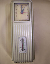 "Vtg Sears Day/Night ""Programmable"" Thermostat Sampsel Time Control 24v AC clock"