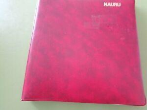 Nauru Album Decimal Mint (Mostly MUH/MNH) Almost Complete to 1988 12 Scans H/Les