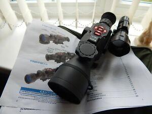 ATN X-Sight II HD 5-20x Digital Day/Night Riflescope - Black very good condition