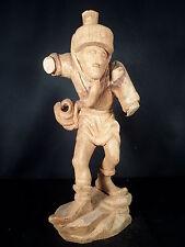 Schnitzrohling: Moriskentänzer Damenhut 43cm
