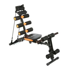 12-in-1 Full Body Multi Exercise Home Gym Equipment - Twist Seat Rower Abs Core
