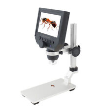 "B29 1000X 4.3"" LCD 8LED Digital Mikroskop Endoskop Lupe Kamera TF-Slot Ständer"