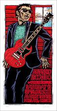 Alejandro Escovedo Poster Carrie Rodriguez Original S/N 150 Gary Houston Coa