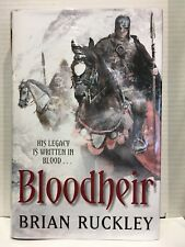 Bloodheir by Brian Ruckley 1st Edition Hardback Signed, Lined & Dated