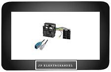 ISO Radio Adaptador + adaptador de antena para VW RCD 200 500 RCD 300 RCD 310 510